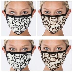 🛍Snakeskin Print Mask - 😷